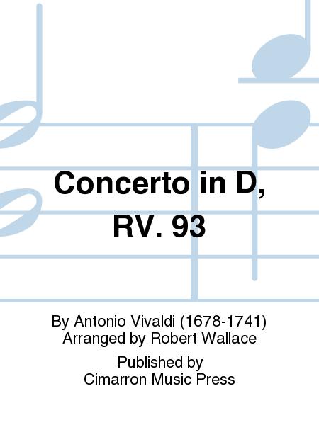 Concerto in D, RV. 93