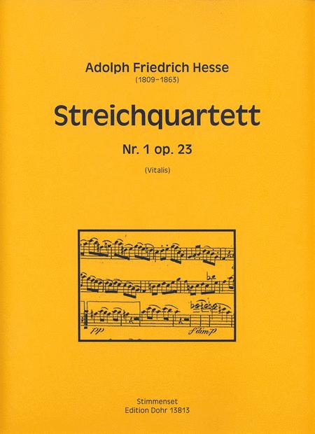Streichquartett Nr. 1 d-Moll op. 23