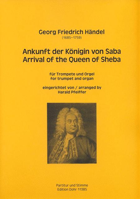 Ankunft der Konigin von Saba (Arrival of the Queen of Sheba) aus