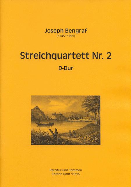 Streichquartett Nr. 2 D-Dur