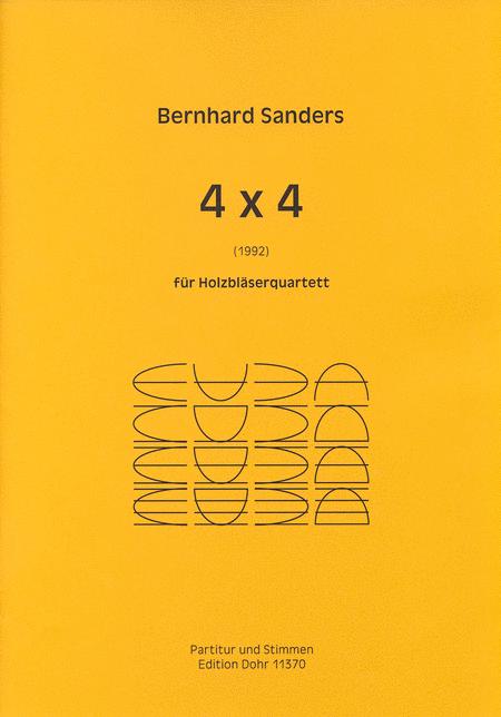 4 x 4 fur Holzblaserquartett (1992)