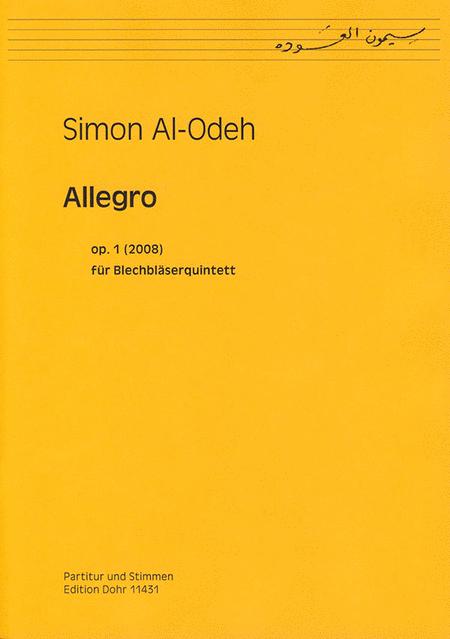 Allegro fur Blechblaserquintett op. 1 (2008)