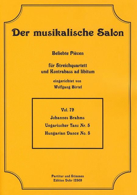 Ungarischer Tanz fur Streichquartett Nr. 5