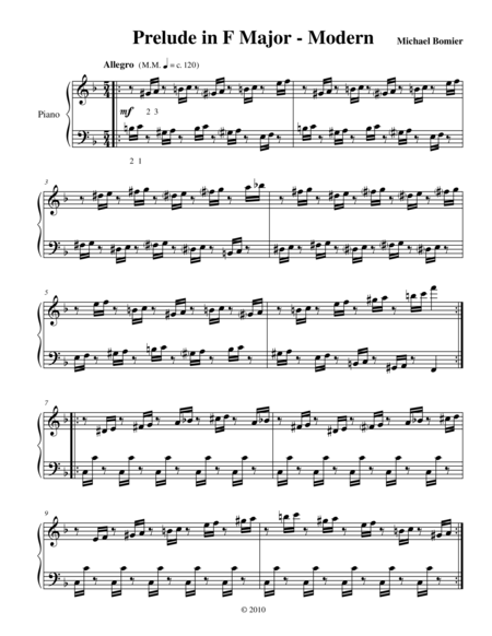 Prelude No.11 in F Major from 24 Preludes