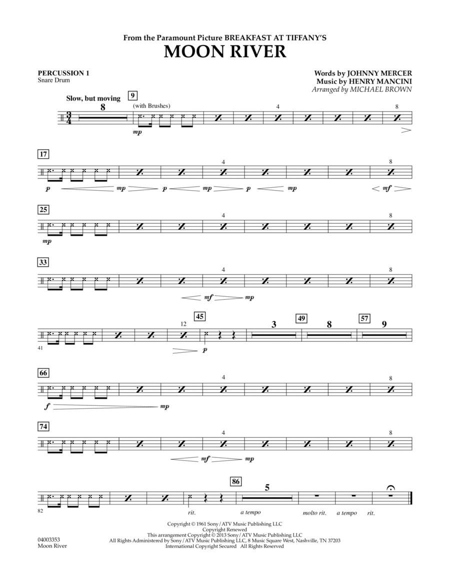 Moon River - Percussion 1