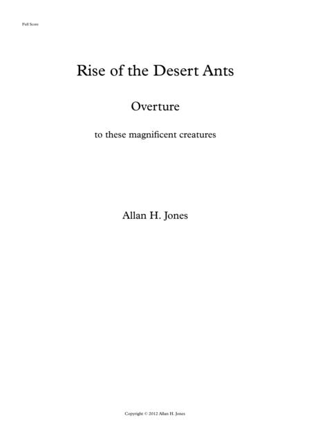 Rise of the Desert Ants