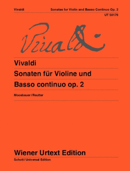 Sonatas For Violin And Basso Continuo