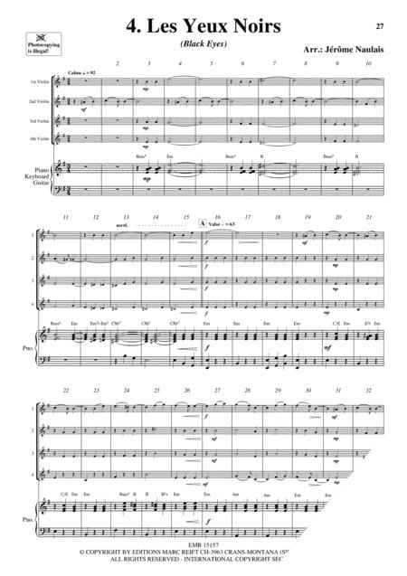 4 Violons & Piano Vol. 4