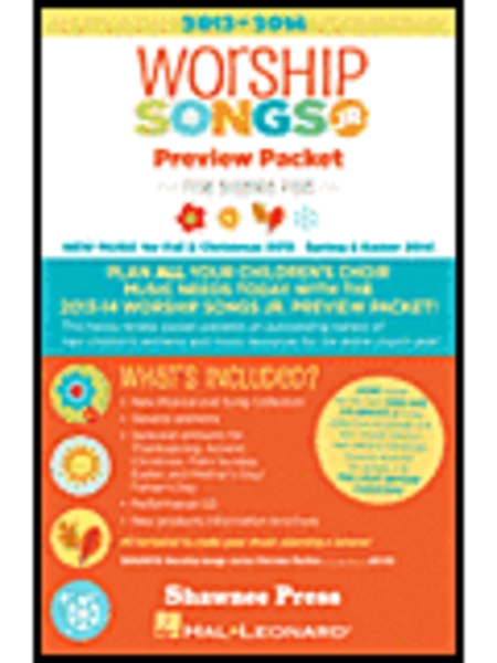 2013-2014 Worship Songs Junior Preview Packet
