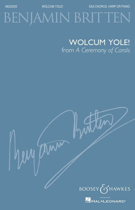 Wolcum Yole (from A Ceremony of Carols)