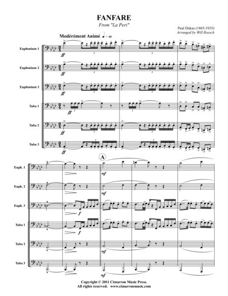 Fanfare from La Peri