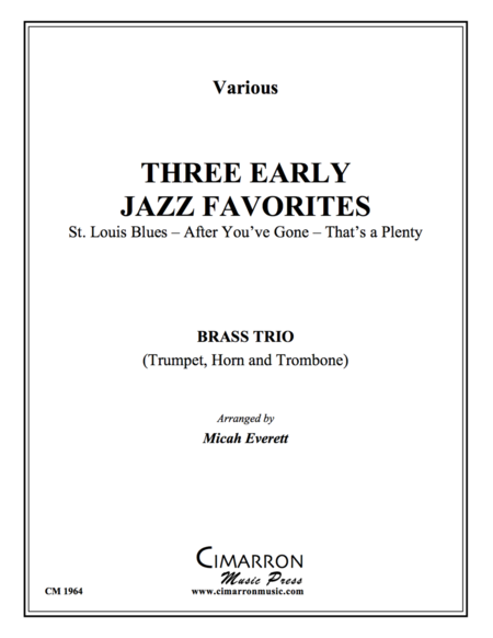 Three Early Jazz Favorites