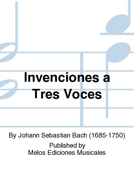 Invenciones a Tres Voces