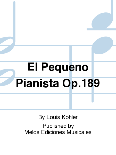 El Pequeno Pianista Op.189
