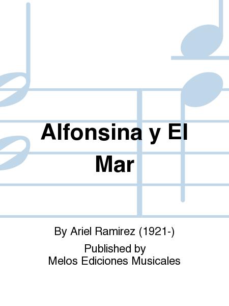 Alfonsina Y El Mar Sheet Music By Ariel Ramirez - Sheet ...