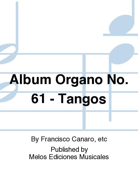 Album Organo No. 61 - Tangos