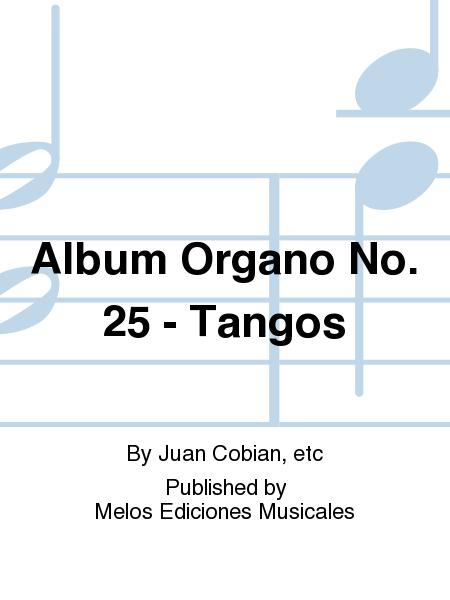 Album Organo No. 25 - Tangos