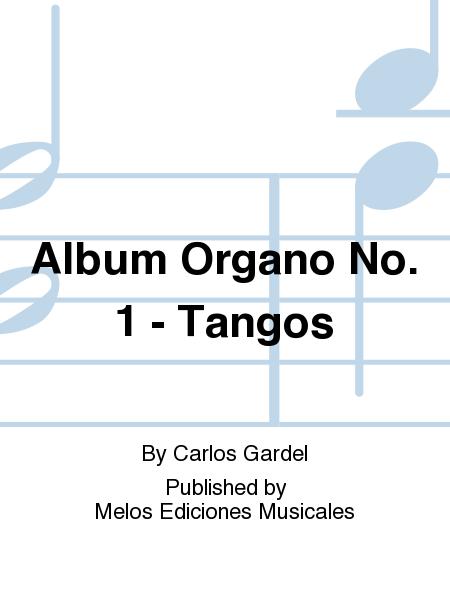 Album Organo No. 1 - Tangos