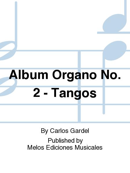 Album Organo No. 2 - Tangos
