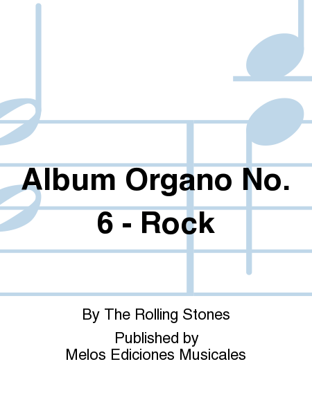 Album Organo No. 6 - Rock