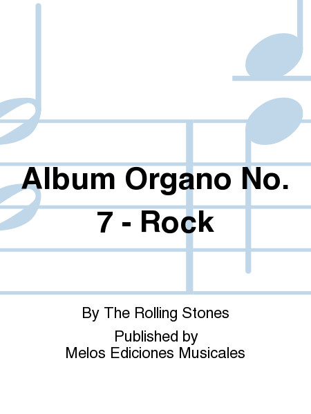 Album Organo No. 7 - Rock