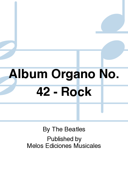 Album Organo No. 42 - Rock
