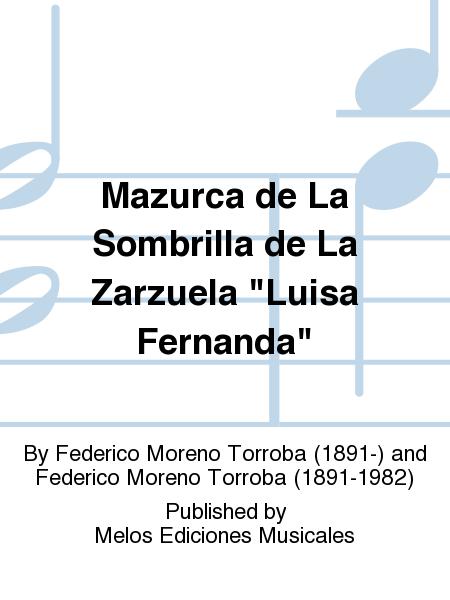 Mazurca de La Sombrilla de La Zarzuela