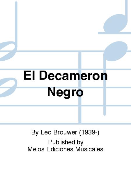 El Decameron Negro