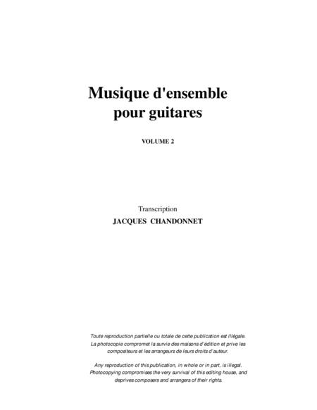 Musique d'ensemble pour guitares, vol. 2