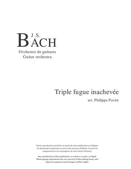 Triple fugue inachevee