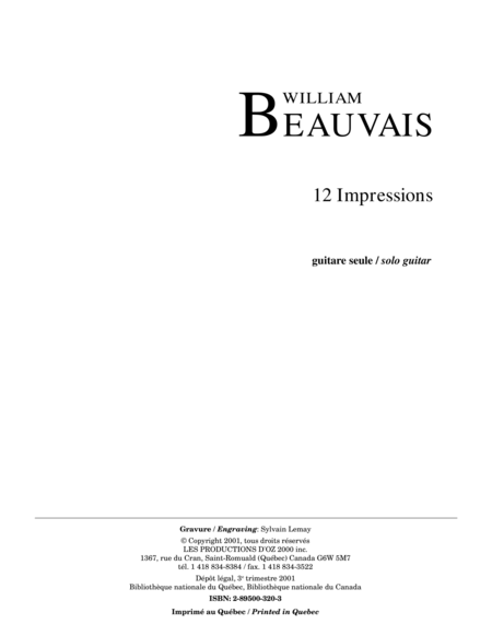 12 Impressions