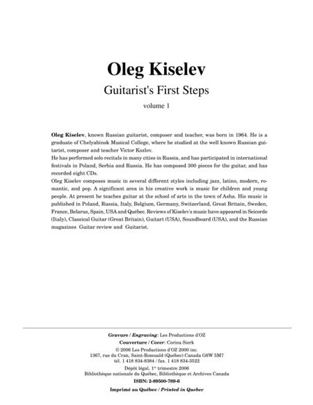 Guitarist's First Steps, vol. 1