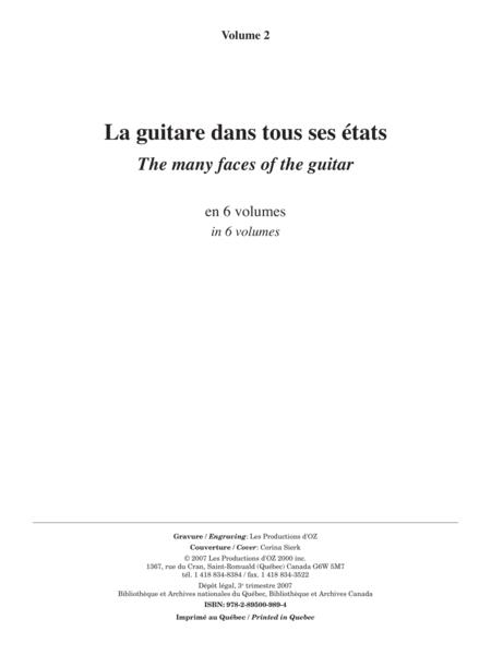 La guitare dans tous ses etats, vol. 2