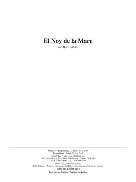 Musique facile pour 4 guitares - Catalogne (El Noy de la Mare)