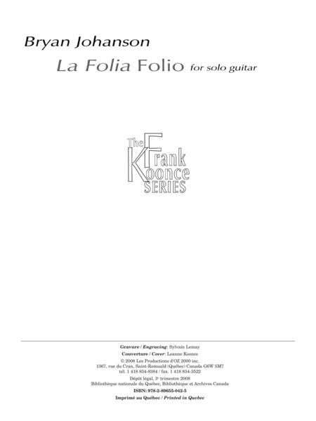 La Folia Folio
