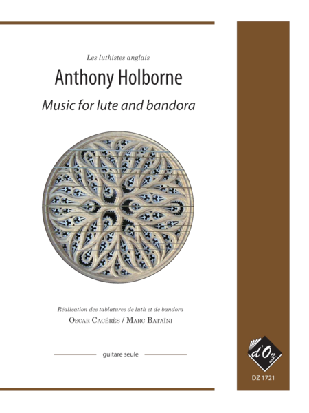Music for lute and bandora, vol. 1