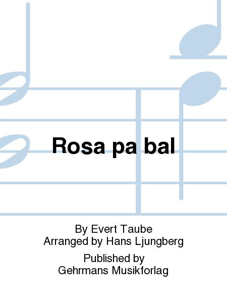 Rosa pa bal