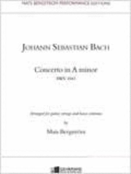 Concerto in a minor BWV 1041 - Solostamma