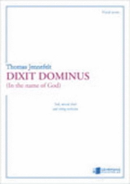 Dixit Dominus, vocal score