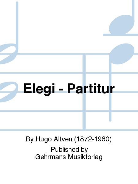 Elegi - Partitur