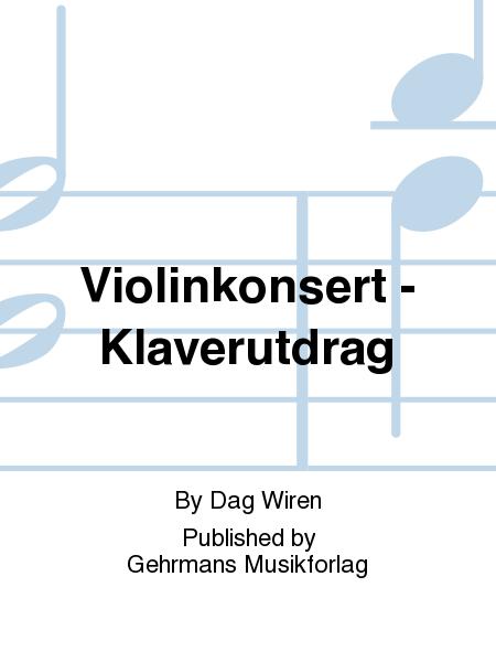 Violinkonsert - Klaverutdrag