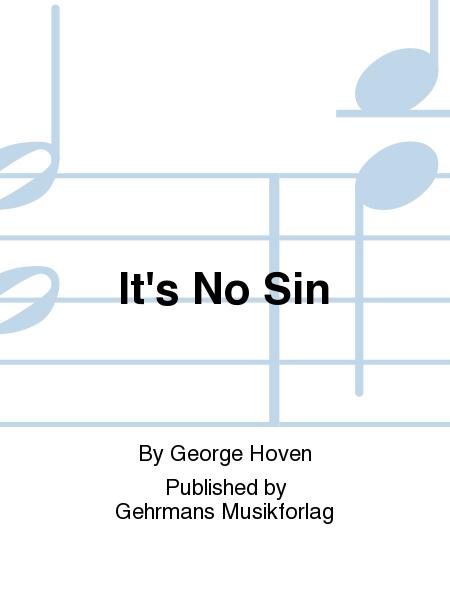 It's No Sin