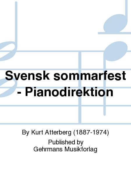 Svensk sommarfest - Pianodirektion