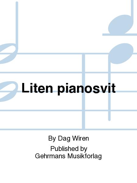 Liten pianosvit