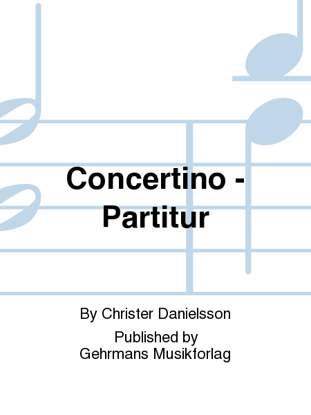 Concertino - Partitur