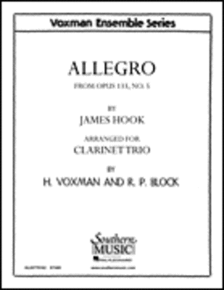Allegro  Op. 133, No. 5