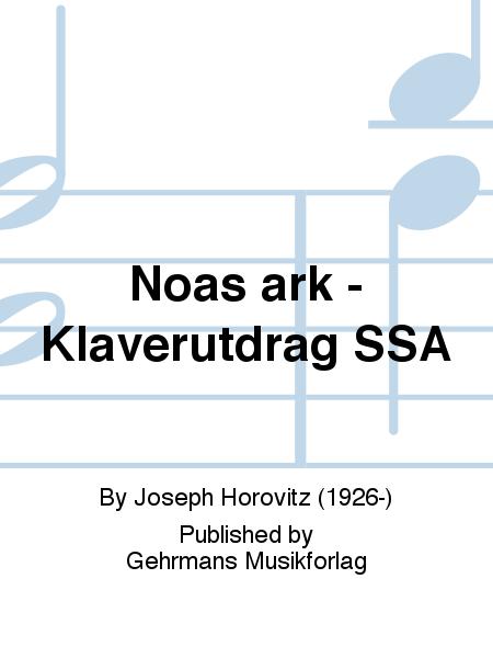 Noas ark - Klaverutdrag SSA