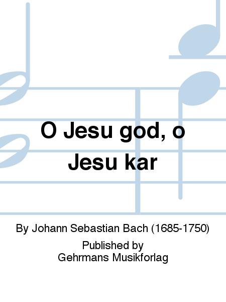 O Jesu god, o Jesu kar