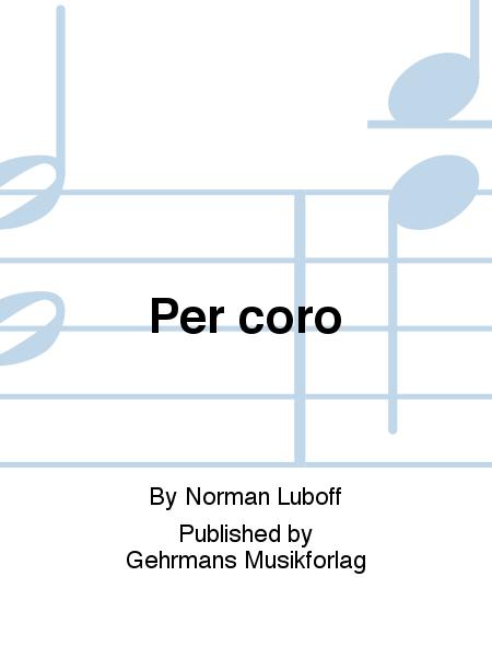 Per coro