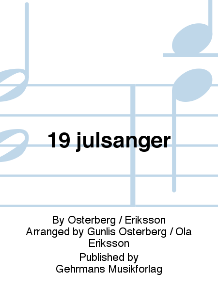 19 julsanger